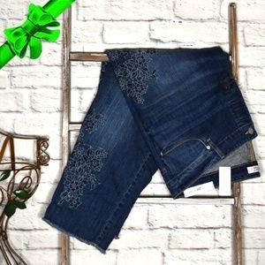 Loft Embroidered Jean Plus 20-26 *k8d03l08n22t1z0